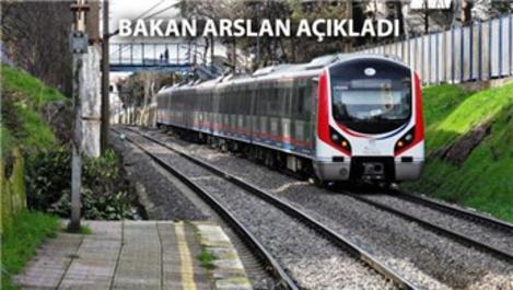 Gebze-Halkalı hattı 2018 sonunda hizmete girecek