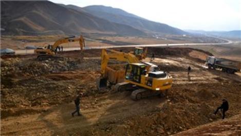 Yüksekova'da içme suyu arıtma tesisi yapımına başlandı