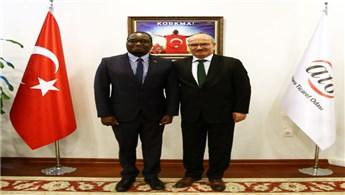 ATO Başkanı Baran, Kenya ile inşaat sektöründe iş birliği önerdi