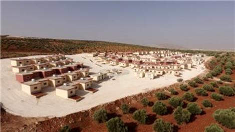 Suriye'de 100 evlik Rahmet Yaşam Köyü açıldı!