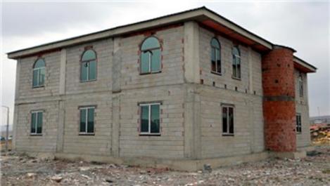 Ardahan'daki Anneler Camisi'nin büyük bölümü tamamlandı