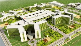 '17 şehir hastanesi projesinin çalışmaları devam ediyor'