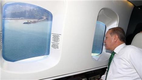 Recep Tayyip Erdoğan, Ayder'i ve havalimanını inceledi