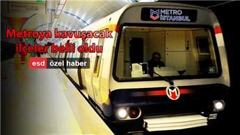 İşte İstanbul'un yeni metro hatları ve güzergahları!
