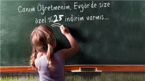 """Evgör'den """"Canım Öğretmenim"""" kampanyası!"""