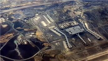 3. Havalimanı'nın son hali uçaktan görüntülendi