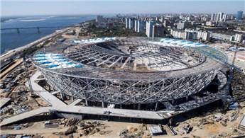 Volgograd Arena'daki inşaat çalışmaları bu yıl tamamlanacak