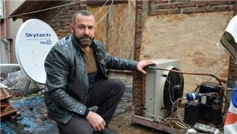 Buzdolabı motoruyla evi ısıtıyor!