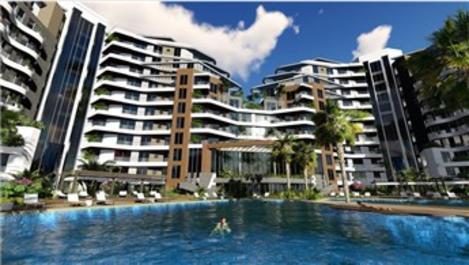 Sunis Residence, Antalya Konyaaltı'da yükseliyor