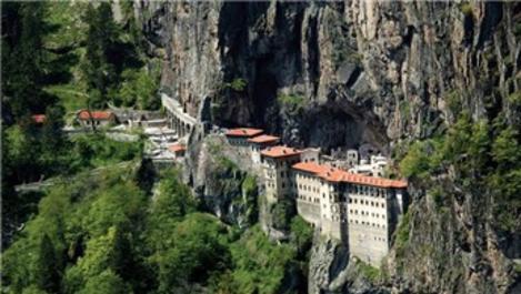 Sümela Manastırı ağustosta ziyarete açılıyor