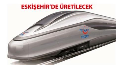 Türkiye'nin ilk milli yüksek hızlı treni geliyor!
