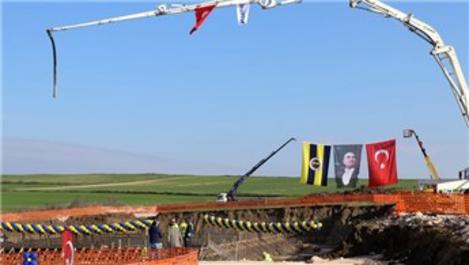 Edirne'deki Fenerbahçe Evi'nin temel atma töreni yapıldı