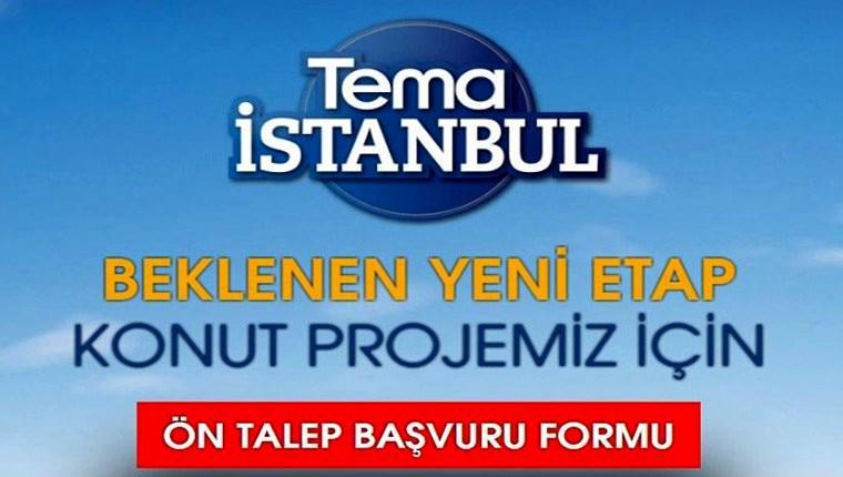 Tema İstanbul Bahçe 2. Etap'ta dairelerin metrekare fiyatı!