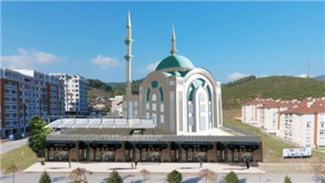 Hoca Ahmet Yesevi Camii'nin temeli atılıyor