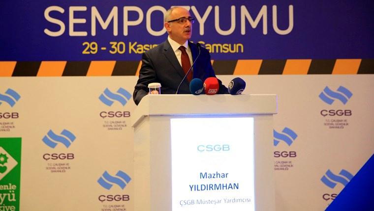 Samsun'da 'Güvenli İnşaat Sempozyumu' yapıldı
