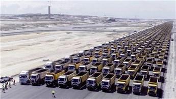 İGA, 3. Havalimanı için 500 kamyon ilanı verdi