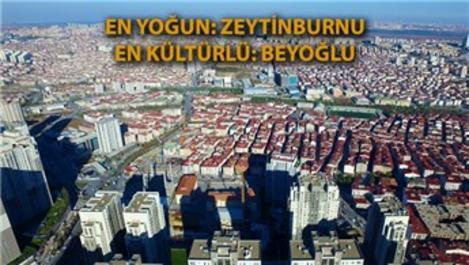 İşte İstanbul'un ilçelere göre istatistikleri!