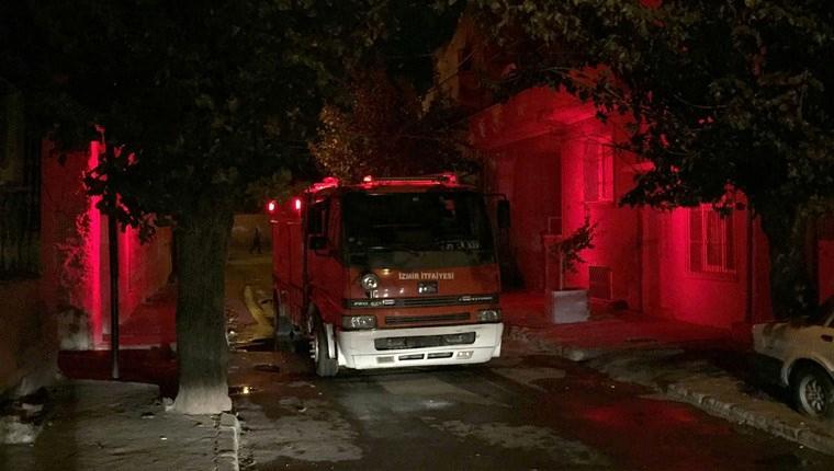 İzmir'de metruk binada yangın: 1 ölü!