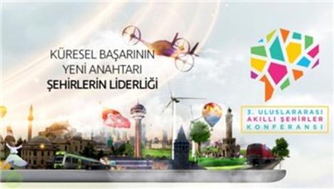 3. Uluslararası Akıllı Şehirler Konferansı başlıyor