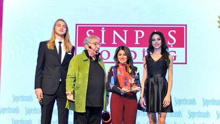 Sinpaş, ikinci kez Süper Marka seçildi