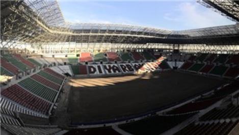 Diyarbakır'ın modern stadyumunda sona gelindi