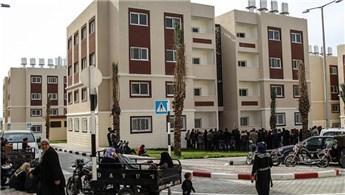 TİKA'nın Gazze'de inşa ettiği konutlar teslim edildi