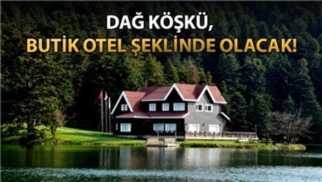 Gölcük Parkı'na dağ köşkü ve 25 bungalov yapılacak