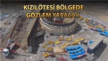Doğu Anadolu Gözlemevi'nin inşaatı sürüyor