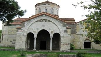 Trabzon'daki Ayasofya Cami için yeni çalışma başlatıldı