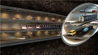 3 Katlı Büyük İstanbul Tüneli'nin modeli değişti