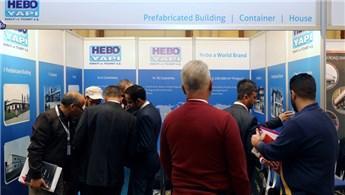 Hebo Yapı, Türk-Arap Yapı-İnşaat Malzemeleri Fuarı'na katıldı