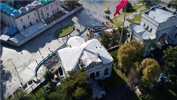 Beyazıt Cami'nin son hali havadan görüntülendi