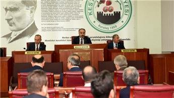 Bursa'da 2018'de yapılacak yatırımlar masaya yatırıldı