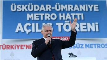 Başbakan, ilk sürücüsüz metronun açılışına katıldı