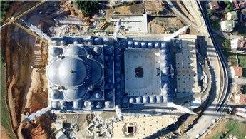 Çamlıca Camisi'nde sona yaklaşılıyor!