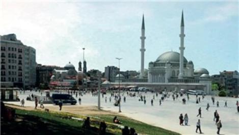 Taksim Camisi'nde çalışmalar tüm hızıyla devam ediyor!
