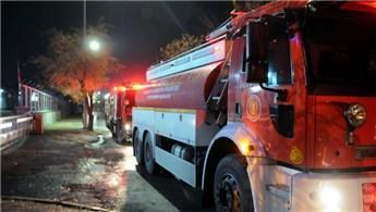 Gaziantep'te iplik fabrikasında yangın çıktı!