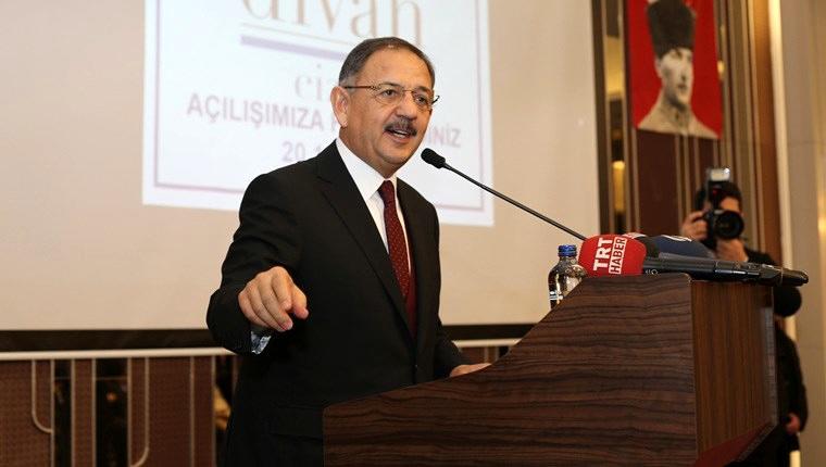Bakan Özhaseki Cizre'de Divan Oteli'nin açılışına katıldı