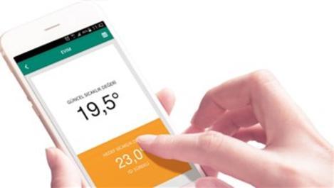 Baymak Connect akıllı oda termostatıyla yüzde 30 tasarruf edin!