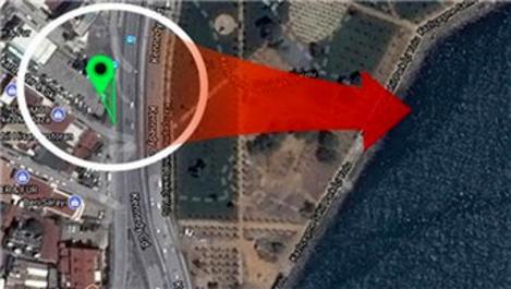 Zeytinburnu'ndaki üçgen arsa 14.9 milyon TL'ye satılıyor
