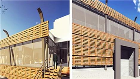 Binalardaki görsel kirliliğe 'biyo duvar' çözümü!