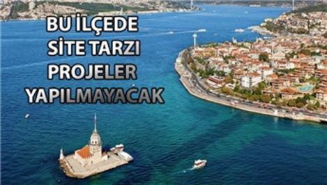 İstanbul Üsküdar'da 1+1 dairelerin yapımı yasaklandı!