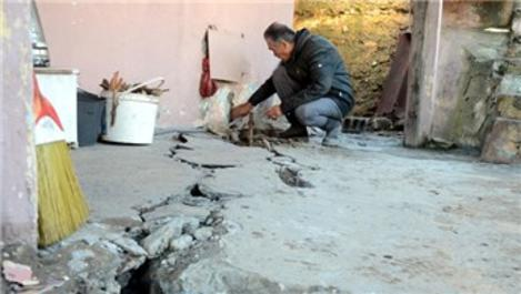 Zonguldak'ta yıkılma riski bulunan evler boşaltılacak