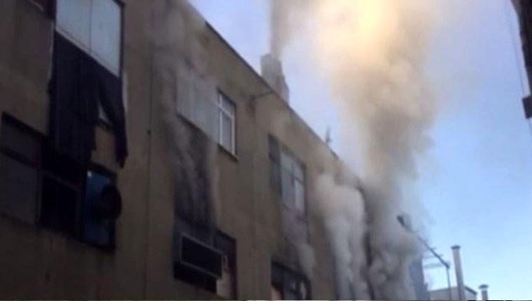 Bayrampaşa'da sanayi sitesinde yangın çıktı!