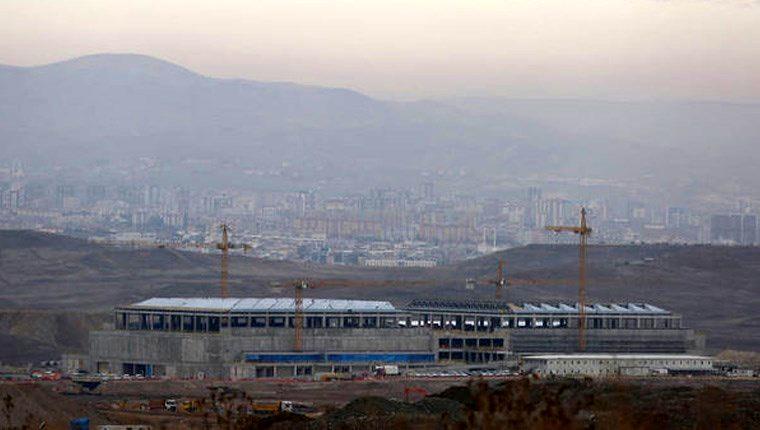 MİT'in yeni binasının inşaatı büyük ölçüde tamamlandı