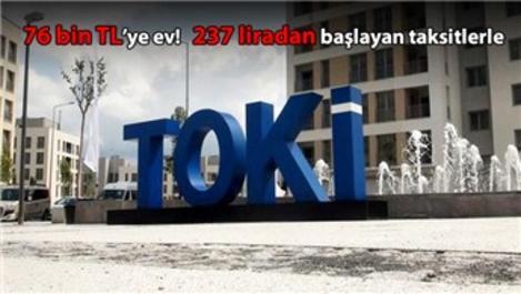 TOKİ'den 2018 bombası! 3 bin 862 konut satışa çıktı!