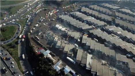 Zeytinburnu Nakliyeciler Sitesi'nde yıkım gerginliği!