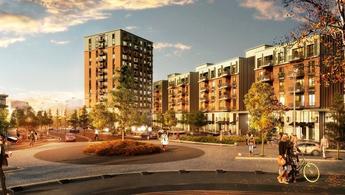 Sinpaş Finans Şehir, özgün mimarisi ile dikkat çekiyor