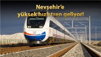 Başbakan, Nevşehir'de YHT müjdesi verdi