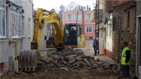 Kırklareli'de 238 cadde ve sokak yenileniyor